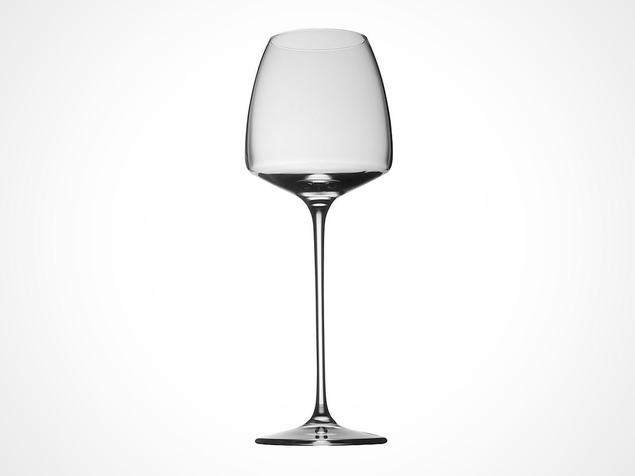 Rosenthal TAC 02 wine glasses before gray backdrop