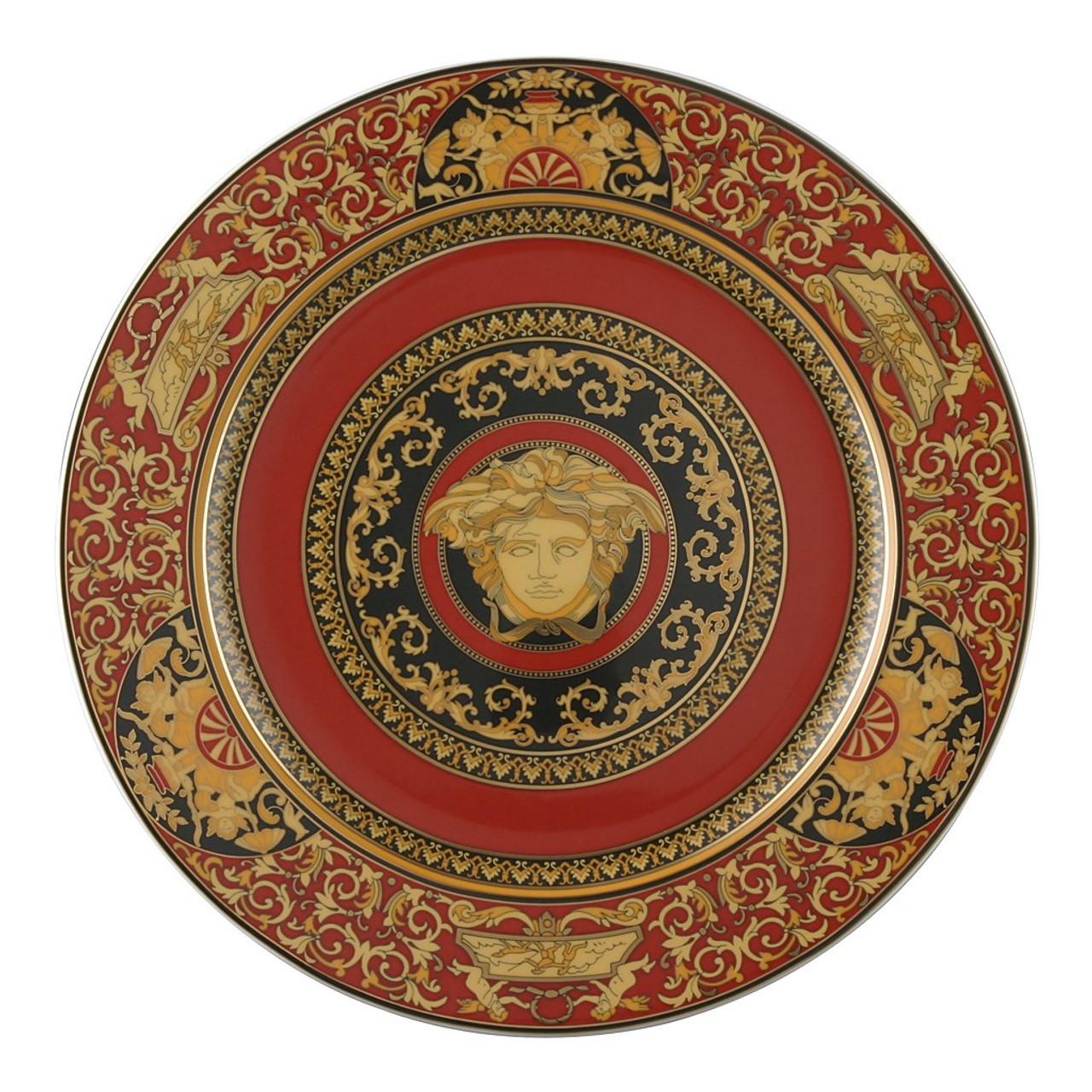 Service Plate 12 inch | Versace Medusa Red  sc 1 st  Rosenthal & Service Plate 12 inch | Medusa Red| Rosenthal Shop