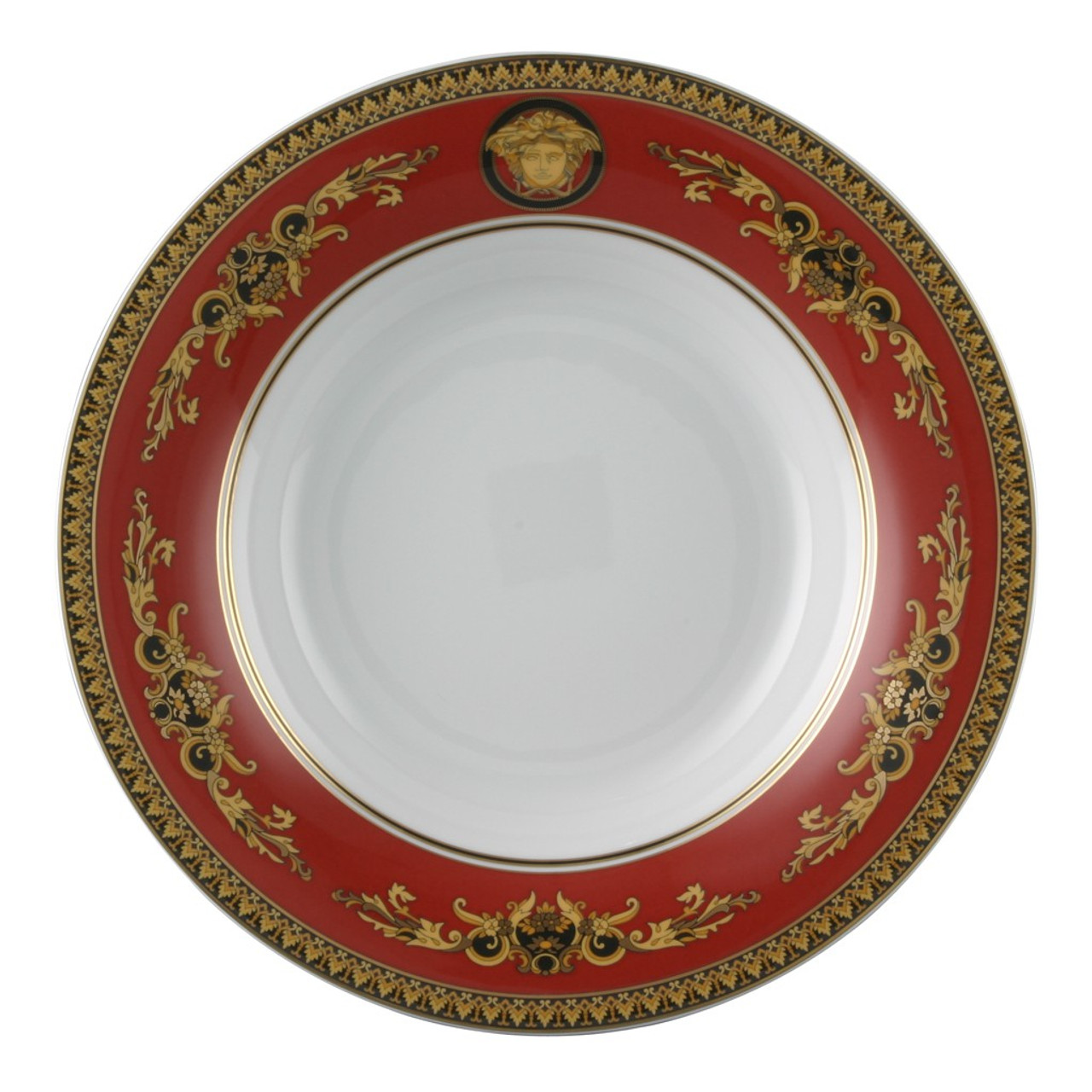 Gourmet Plate 12 1/4 inch | Versace Medusa Red  sc 1 st  Rosenthal & Gourmet Plate 12 1/4 inch | Medusa Red| Rosenthal Shop