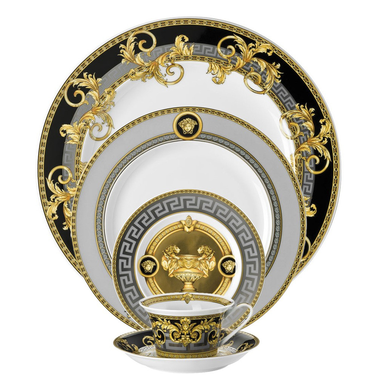 5 piece Dinnerware Set | Prestige Gala  sc 1 st  Rosenthal & 5 piece Dinnerware Set | Prestige Gala| Rosenthal Shop