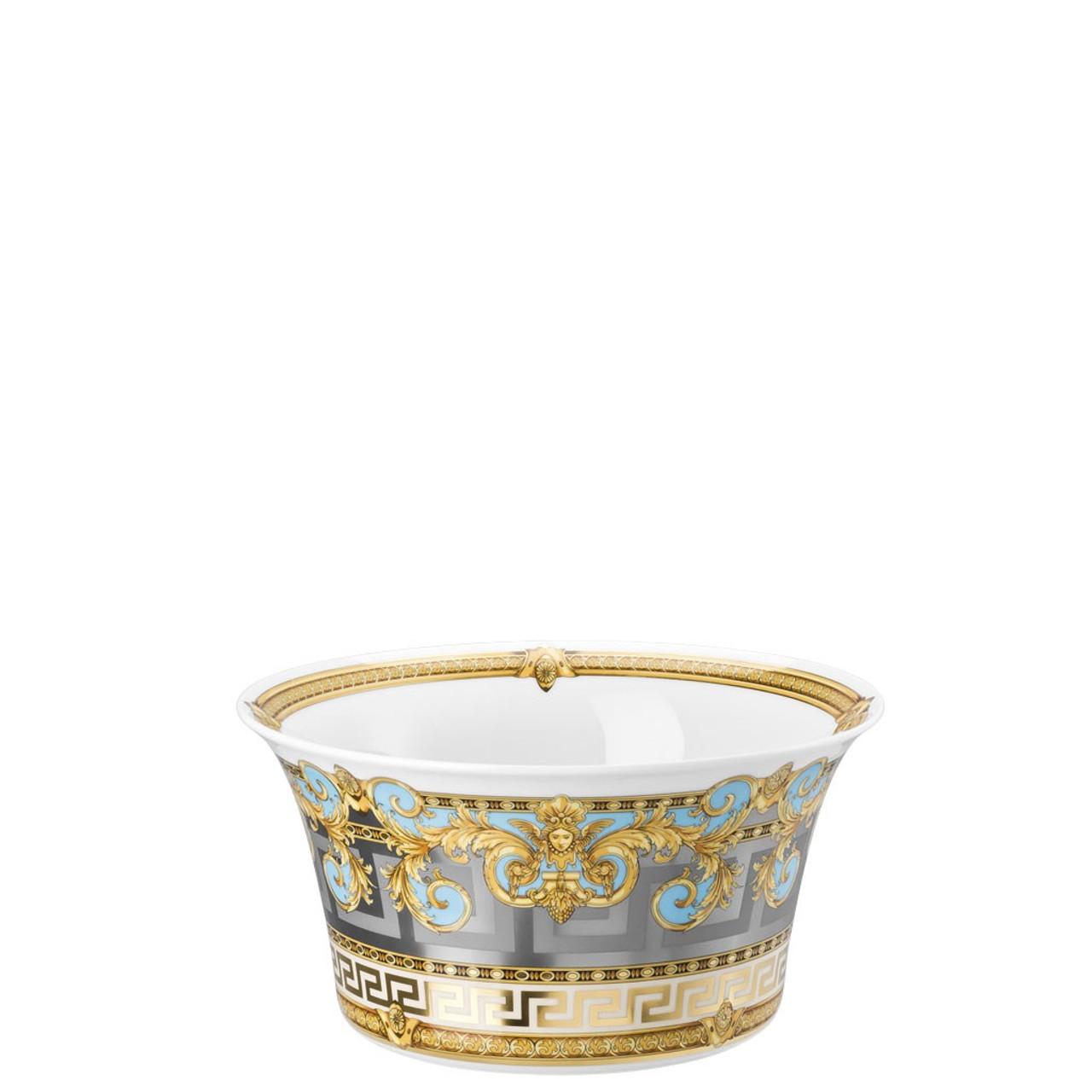 4546b96f4e54 Vegetable Bowl, Open, 8 inch, 56 ounce   Versace Prestige Gala Bleu