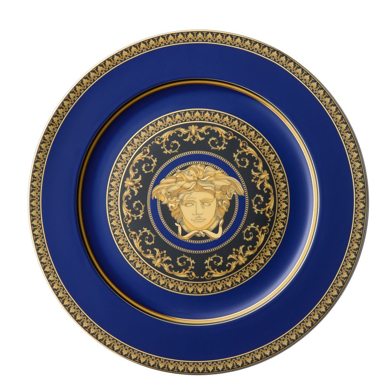 Service Plate 12 inch | Versace Medusa Blue  sc 1 st  Rosenthal & Service Plate 12 inch | Medusa Blue| Rosenthal Shop