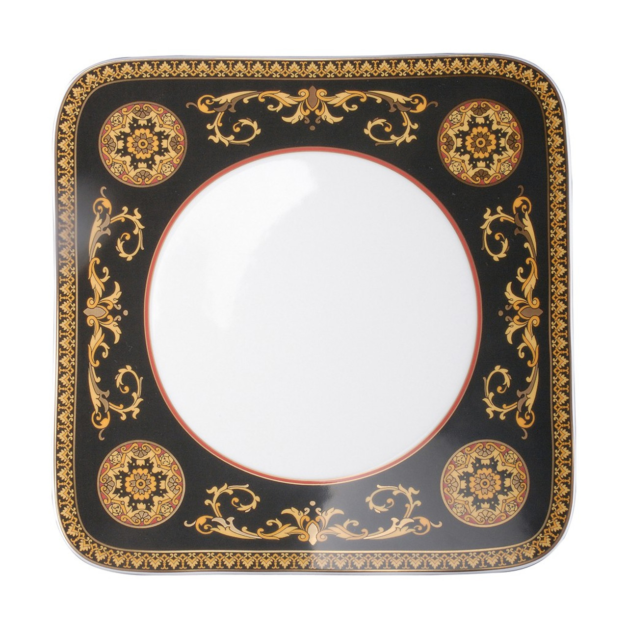Dinner Plate Square 10 1/2 inch | Versace Medusa Red  sc 1 st  Rosenthal & Dinner Plate Square 10 1/2 inch | Medusa Red| Rosenthal Shop
