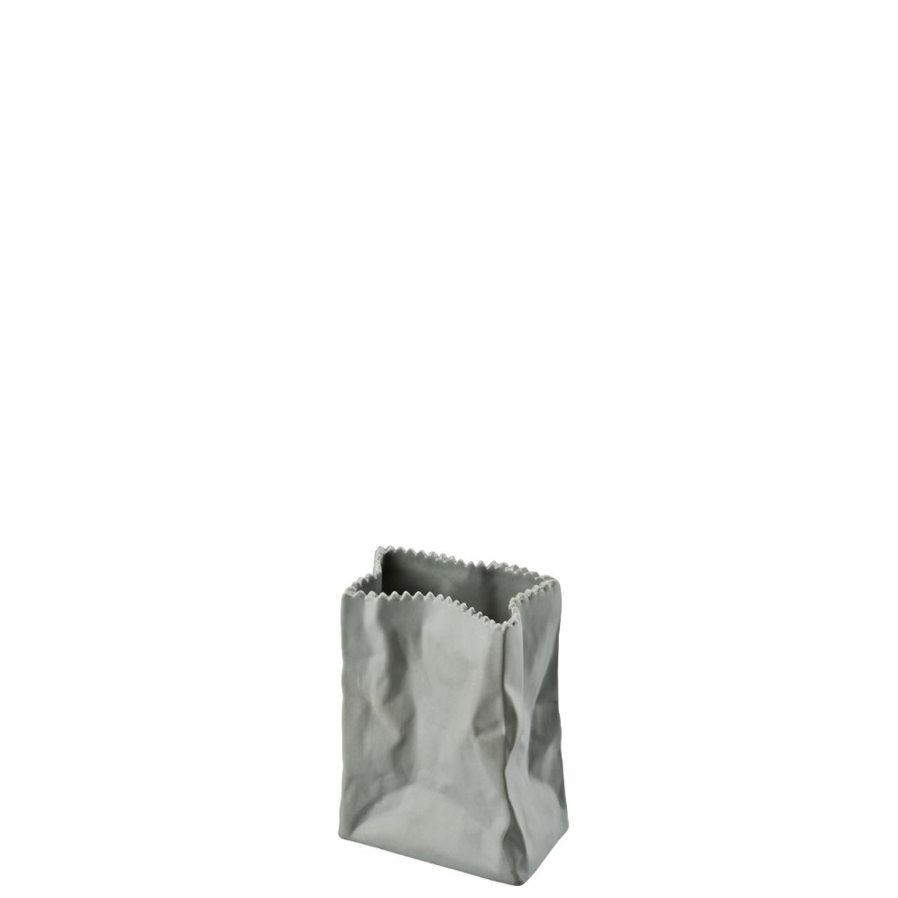 vase stone 4 inch paper bag vase rosenthal shop