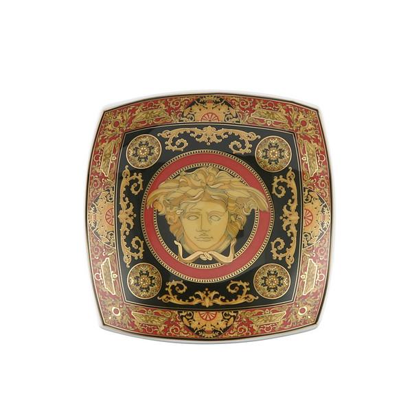 Candy Dish, Porcelain, 5 1 2 inch   Versace Medusa Red b7bfaac05c2