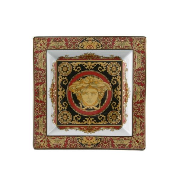 Tray, Porcelain, 8 1/2 inch | Medusa Red