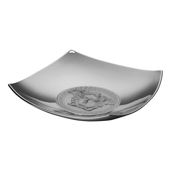 Candy Dish, Porcelain, 8 1/2 inch   Medusa Platin