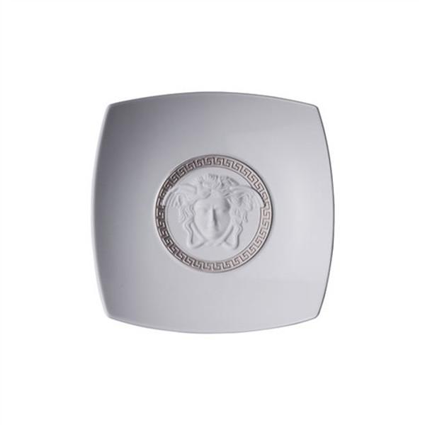 Candy Dish, Porcelain, 7 inch | Medusa Silver