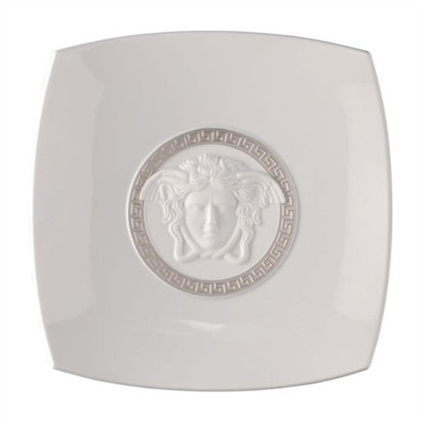 Candy Dish, Porcelain, 8 1/2 inch | Medusa Silver