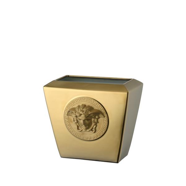 Vase, Porcelain, 7 inch   Medusa Gold