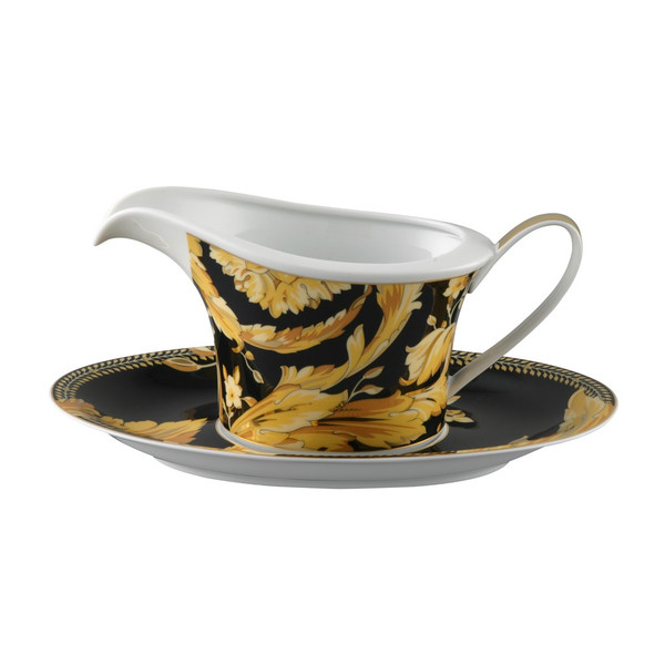 Sauce Boat, Two Pieces, 18 ounce | Vanity