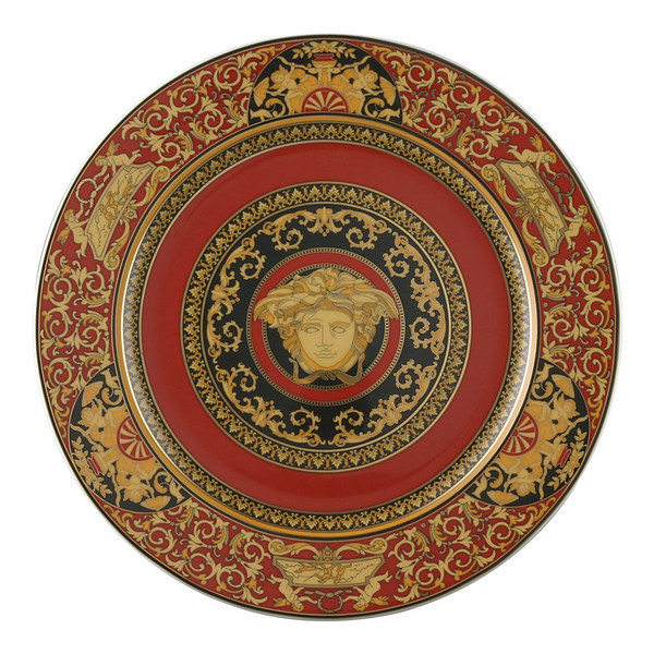 Service Plate, 12 inch | Medusa Red