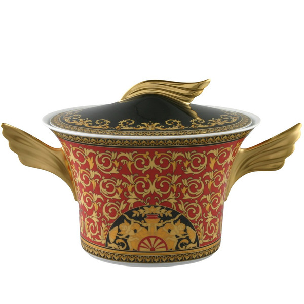 Soup Tureen, 77 ounce | Medusa Red