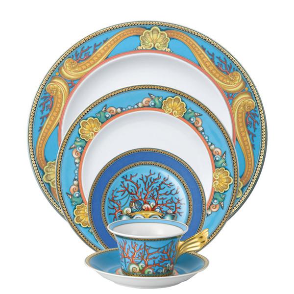 5 Piece Place Setting (5 pps)   La Mer  sc 1 st  Rosenthal & Luxurious \u0026 Glamorous Dinnerware   Rosenthal Shop