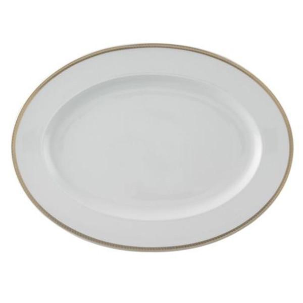 Platter, 15 3/4 inch   Medusa D-Or