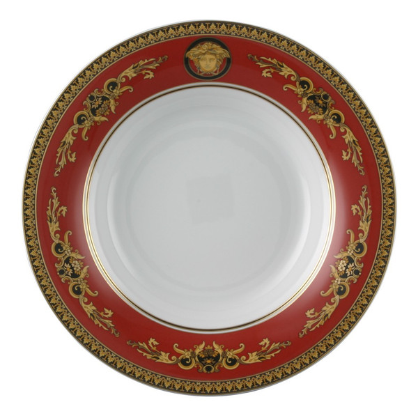 Gourmet Plate, 12 1/4 inch | Medusa Red
