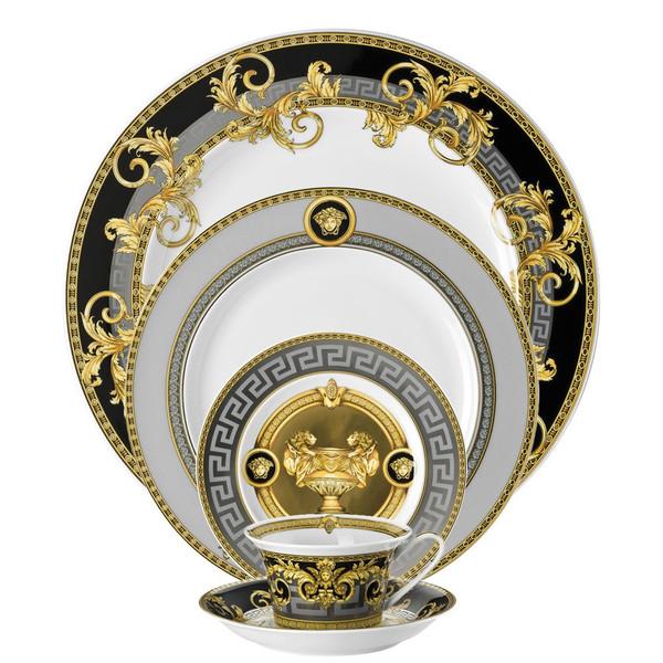 5 piece Dinnerware Set | Prestige Gala  sc 1 st  Rosenthal & Luxurious \u0026 Glamorous Dinnerware | Rosenthal Shop