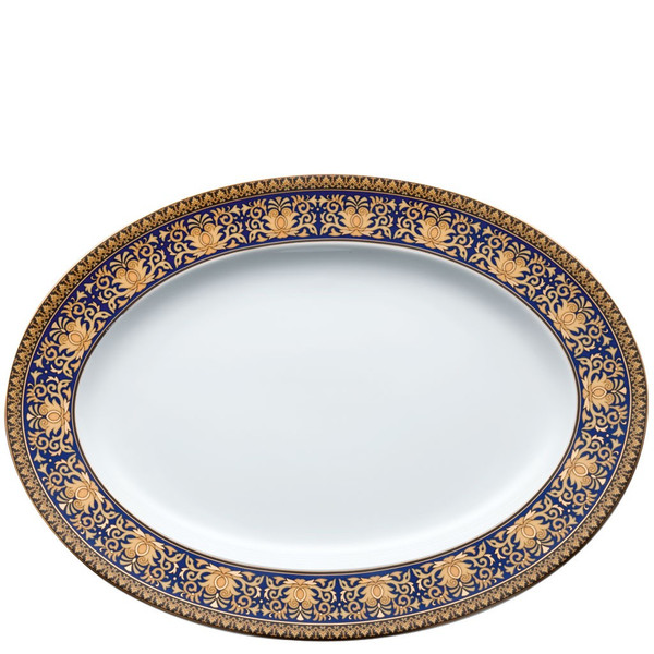 Platter, 13 1/4 inch | Medusa Blue