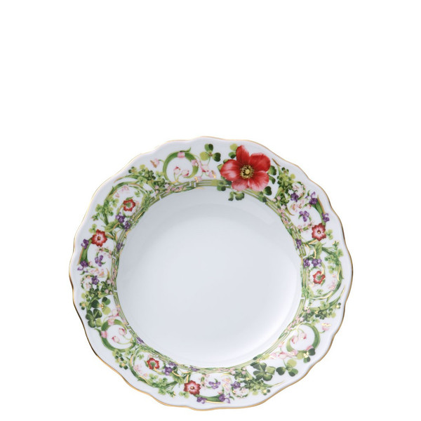 Rim Soup, 9 inch | Versace Flower Fantasy