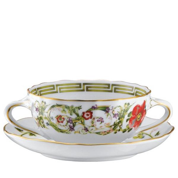Cream Soup Saucer, 6 1/3 inch | Flower Fantasy
