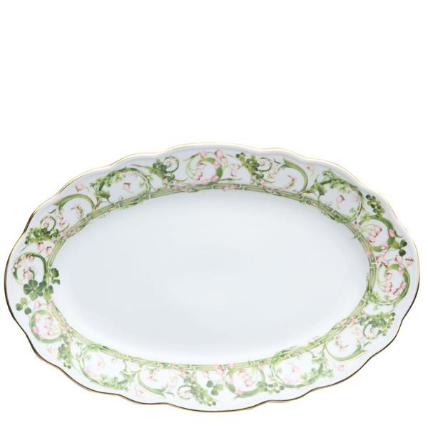 Platter, 13 3/4 inch | Flower Fantasy
