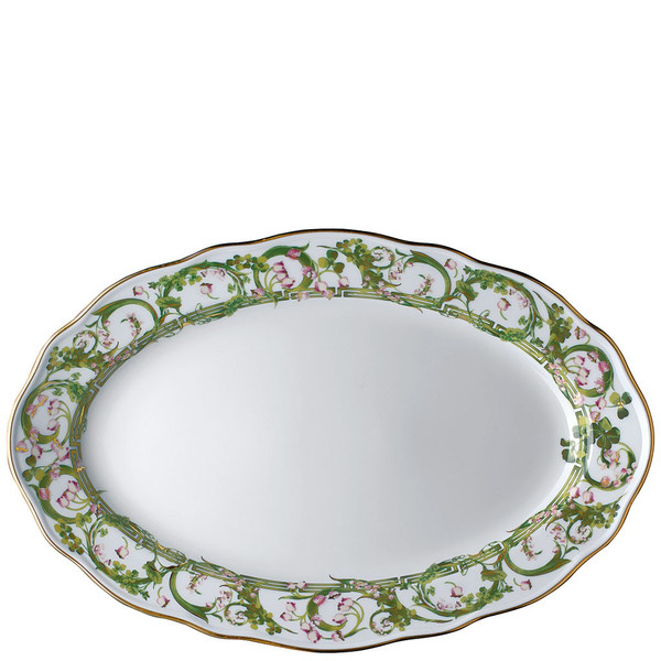Platter, Oval, 15 inch | Flower Fantasy