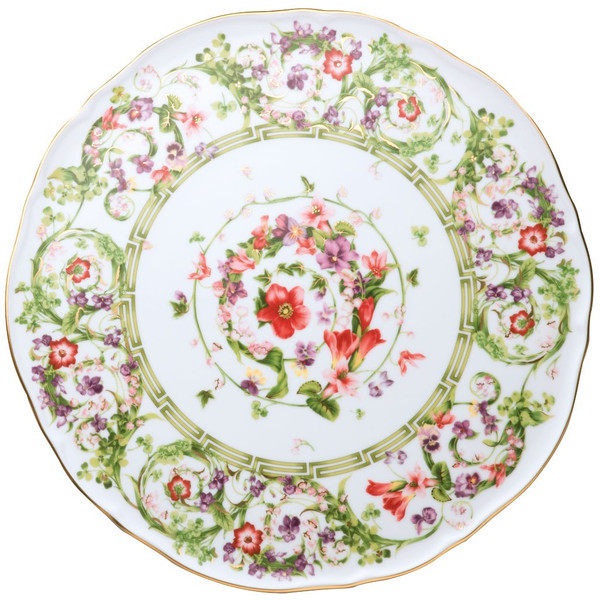 Tray, Tart Platter, 12 2/3 inch | Flower Fantasy