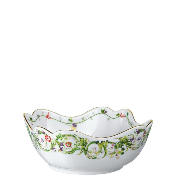 Vegetable Bowl, Open, 9 1/2 inch | Flower Fantasy