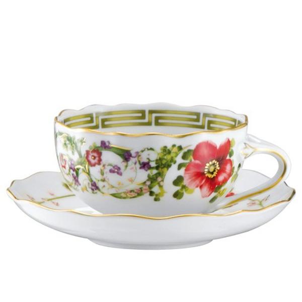 Tea Saucer, 5 1/2 inch | Flower Fantasy