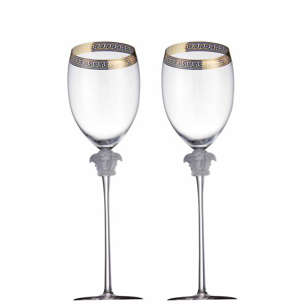 Water Goblet, 11 1/2 inch, 16 ounce | Medusa D-Or