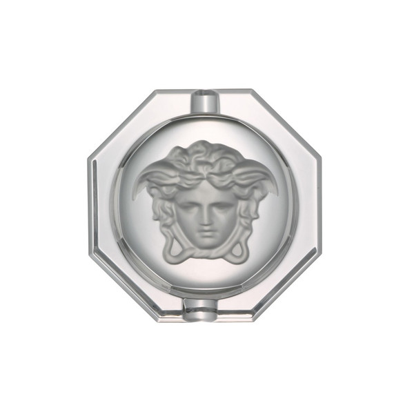Ashtray, Crystal, 6 1/4 inch | Medusa Lumiere