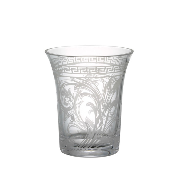 Vase, Crystal, 7 inch   Arabesque Clear