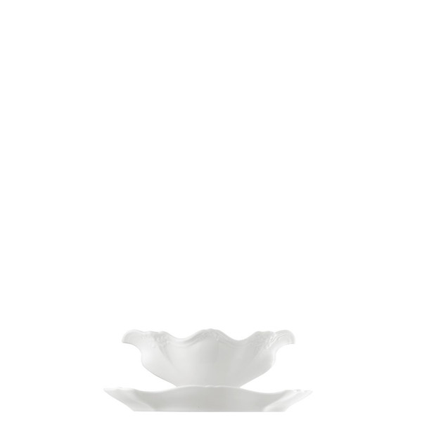 Sauce Boat, 13 ounce   Rosenthal Baronesse White