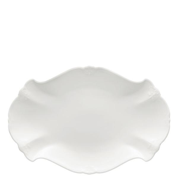 Platter, 13 inch   Baronesse White