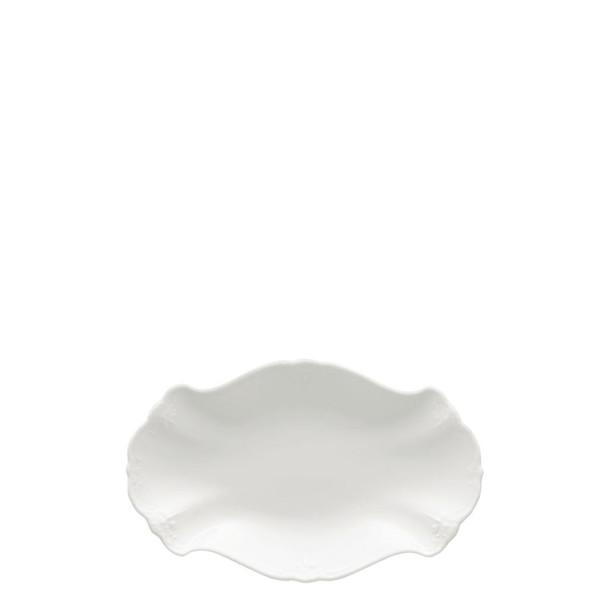 Relish Dish, 9 1/2 inch   Rosenthal Baronesse White