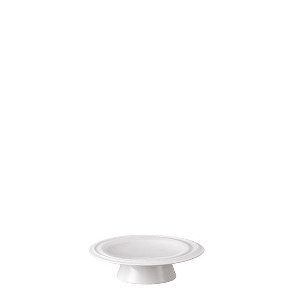 Footed Platter, 5 1/2 inch   Nendoo White