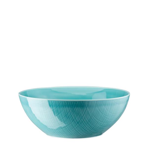 Bowl, 9 1/2 inch   Rosenthal Mesh Aqua