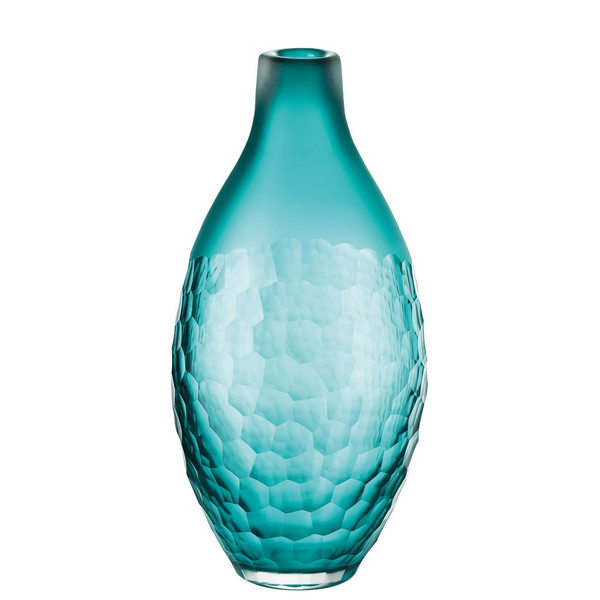 Vase 11 12 Inch Fiji Blue 118002 Rosenthal Shop