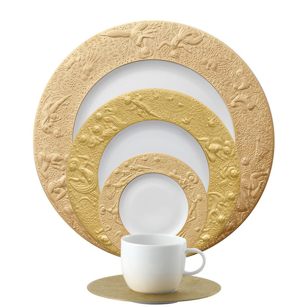 5 Piece Place Setting (5 pps) | Magic Flute Sarastro  sc 1 st  Rosenthal & Formal \u0026 Elegant Dinnerware | Rosenthal Shop