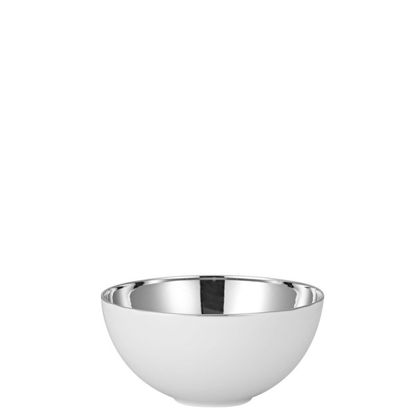 Vegetable Bowl, Open, 7 1/2 inch | Rosenthal TAC 02 Skin Platinum