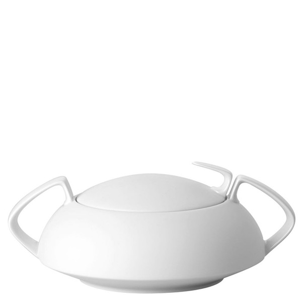Vegetable Bowl, Covered, 54 ounce | Rosenthal TAC 02 Skin Silhouette