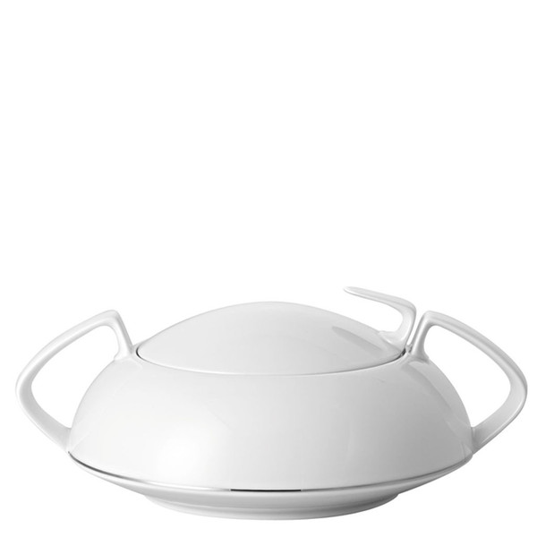 Vegetable Bowl, Covered, 54 ounce | TAC 02 Platinum