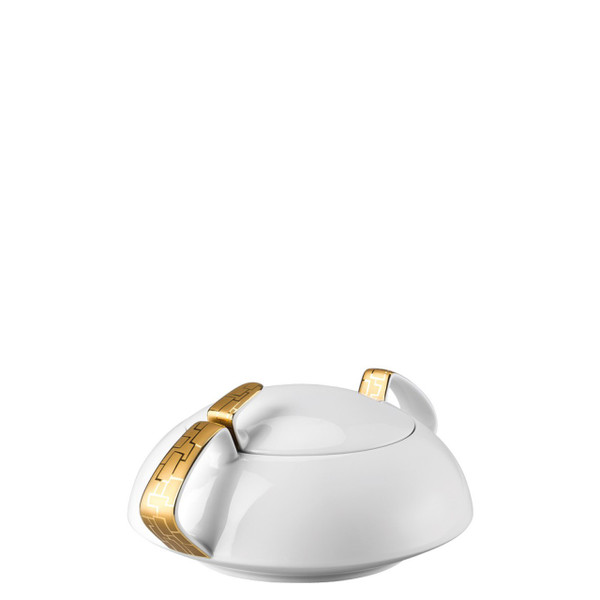Vegetable Bowl, Covered, 54 ounce | TAC 02 Skin Gold