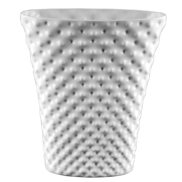 Vase 12 12 Inch Vibrations White 800001 Rosenthal Shop