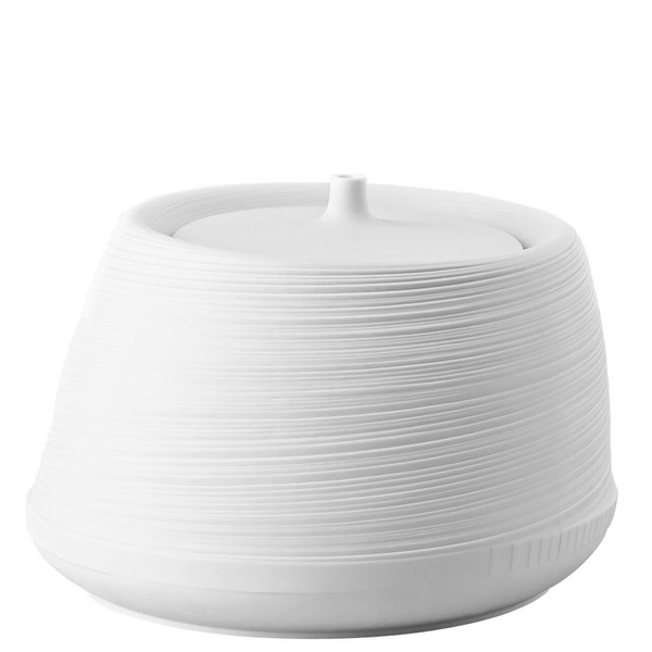 Vegetable Bowl, Covered, 169 ounce | Rosenthal Papyrus White