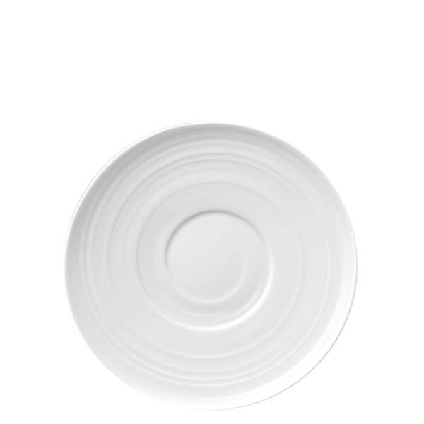 Cappuccino/Tea Saucer | Rosenthal Papyrus White