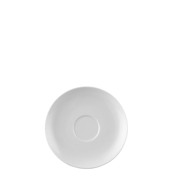 Cream Soup Saucer, 6 1/2 inch | Moon White