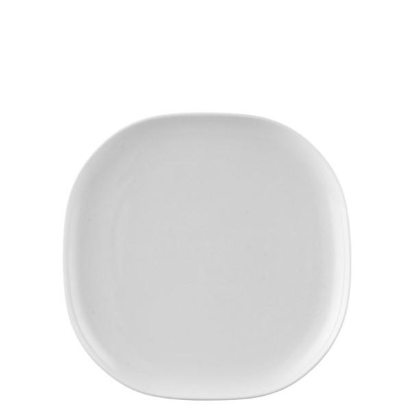 Platter, 9 1/2 inch   Moon White