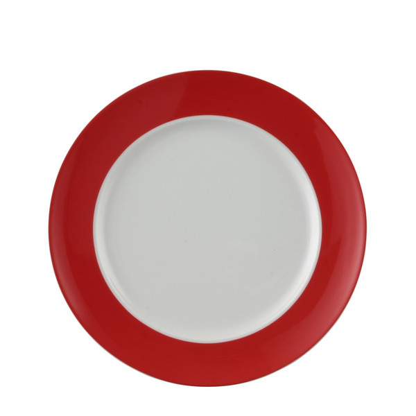 Dinner Plate, 10 1/2 inch | Sunny Day Red