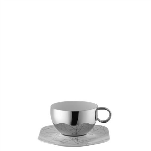 Café au Lait Saucer, 7 1/2 inch   Rosenthal Free Spirit Stars